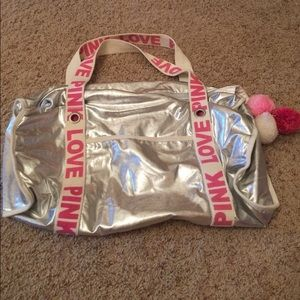 Victoria's Secret overnight bag.